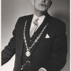 Burgemeester van Heemstede A.G.A. van Rappard - onbekend