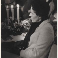 Echtgenote van de heer A.G.A. van Rappard, burgemeester van Heemstede - onbekend