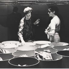 Japonstoftonnen expositieruimte Modesign - Pictura (fotografie), Cor van Weele (Amsterdam)