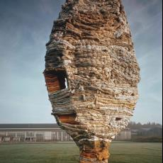 Kleurendia sculptuur 'Maandier' - Dick Hetjes (Bergeijk)
