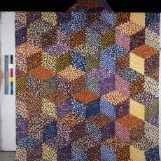 Gordijnstof ontworpen door Barbara Broekman - Pictura (fotografie), onbekend