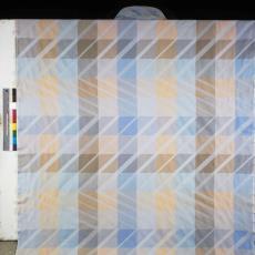 Bedrukte gordijnstof ontworpen door Diek Zweegman - onbekend, Pictura (fotografie)