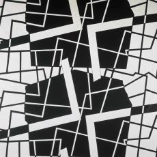 Bedrukte gordijnstof ontworpen door Wolf Bauer - Pictura (fotografie), onbekend