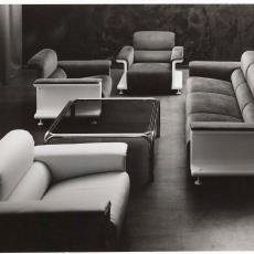 Spectrum fauteuils sz28, driezitsbank bz29 en salontafel - Dick Hetjes (Bergeijk)