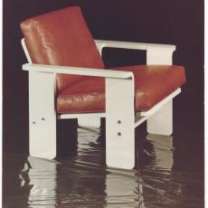 Spectrum fauteuil sz76 ontworpen door Martin Visser - Dick Hetjes (Bergeijk)