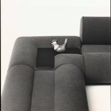 Hoekelement van zitbank Ondula - Paul de Nooijer, Pictura (fotografie)