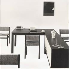 Interieur studeerkamer - Pictura (fotografie), W.A. Meischke