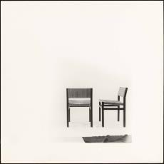 Voor- en zijaanzicht stoel se82 - Jan Versnel, Pictura (fotografie)