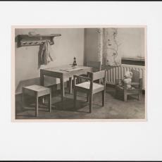 Interieur kinderkamer - Pictura (fotografie), onbekend