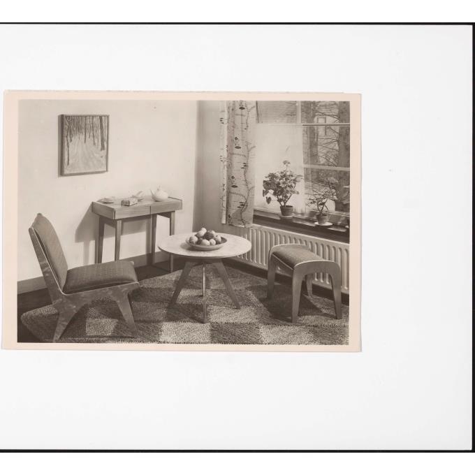 Interieur woonkamer met Spectrum multiplex meubelen \'Dordrecht ...