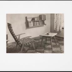 Zithoek ingericht met Spectrum meubelen - onbekend, Pictura (fotografie)