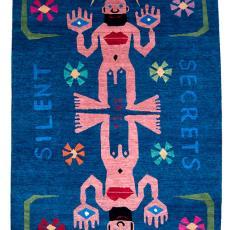Vloerkleed 'Silent Secrets' - Walter Van Beirendonck, Tufenkian Artisan Carpets, Vouyr, Galerie