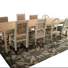 Twee tafels uit het gastenrestaurant van Interpolis in Tilburg - kunstenaar, Studio Makkink & Bey, Interpolis