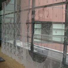 Gordijnpanels uit het gastenrestaurant van Interpolis in Tilburg - Studio Makkink & Bey, kunstenaar, Interpolis