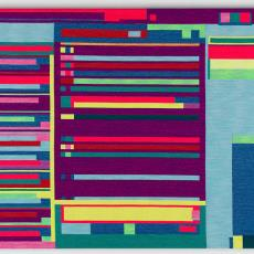 'Abstract Browsing 16-10-07 (Facebook)' - Rafael Rozendaal, Textielmuseum, Van Oostendorp