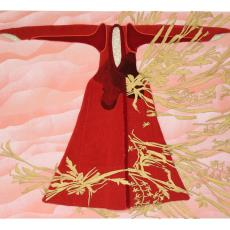 'Red Thread' - Eylem Aladogan, kunstenaar, Textielmuseum