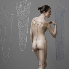 'Minimal Dress' - Digna Kosse, Textielmuseum (Joep Vogels), kunstenaar