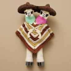 Broche 'Gonzales Brothers' uit de serie 'Once upon a time in my West' (part 1) - Felieke van der Leest, Hartmann, Eddo