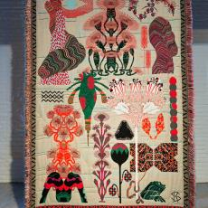 'Herbarium of Dreams', uit de serie 'Hypnopompic' - Textielmuseum (Josefina Eikenaar), Tianinen, Jussi, Kustaa Saksi, Textielmuseum