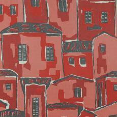 Stofstaal katoenen stof 'Ticino' - Frits Wichard, Stads, Jan, Weverij De Ploeg (Bergeijk), Swinkels Textieldrukkerij (Geldrop)