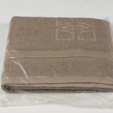 Handdoek, lichtbruin - Donders, Camiel, Weverij De Ploeg (Bergeijk), Donders, Camiel