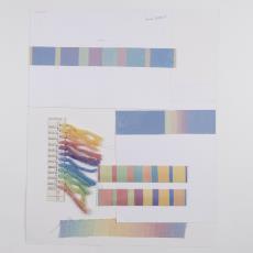Stalenkaart 'Spectra' - Weverij De Ploeg (Bergeijk), Donders, Camiel