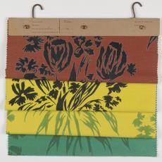 Stalenbundel gordijnstof 'Tulipa' - Donders, Camiel, Donders, Camiel, Palthe's Textielveredelingsbedrijven (Almelo), Weverij De Ploeg (Bergeijk)