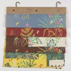 Stalenbundel gordijnstof 'Flora' - Donders, Camiel, Donders, Camiel, Weverij De Ploeg (Bergeijk), Palthe's Textielveredelingsbedrijven (Almelo)
