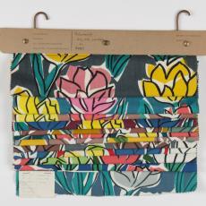 Stalenbundel gordijnstof 'Tulp'/9095 - Donders, Camiel, Donders, Camiel, Weverij De Ploeg (Bergeijk), Palthe's Textielveredelingsbedrijven (Almelo)