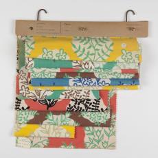 'Parco' 1501 t/m 1506, stalenbundel gordijnstof - Donders, Camiel, Palthe's Textielveredelingsbedrijven (Almelo), Donders, Camiel, Weverij De Ploeg (Bergeijk)