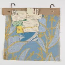 'Folio', stalenbundel gordijnstof - Donders, Camiel, Palthe's Textielveredelingsbedrijven (Almelo), Weverij De Ploeg (Bergeijk), Donders, Camiel