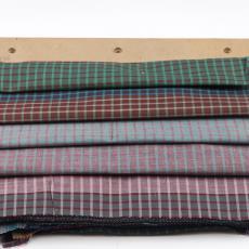 'Ruitjes', stalenbundel kledingstof - Donders, Camiel, Gebr. Stork & Co. (Hengelo), Donders, Camiel, Weverij De Ploeg (Bergeijk)