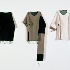 'Vreemde Lichamen; plak- en knipwerk' - kunstenaar, Marian Schoettle, Textielmuseum, Textielmuseum