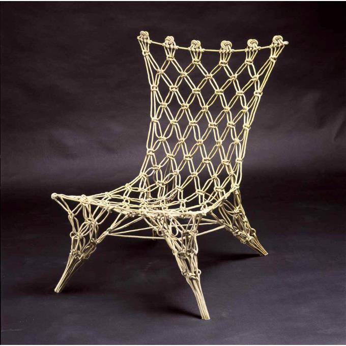 Stoel 39 knotted chair 39 prototype for Marcel wanders stoel