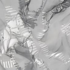 Proefstaal voor 'Orchidee II', (uit 'New York collectie') - Audax Textielmuseum Tilburg, ID Laser B.V., Textielmuseum (Joep Vogels), Eugène van Veldhoven, Textielmuseum (registratiefoto)