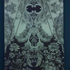 Stof voor Couture Collectie 'Irradiance voorjaar 2011' - Jan Taminiau, Audax Textielmuseum Tilburg