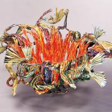 'Zonder titel' - Margot Lommers, Textielmuseum (Frans van Ameijde / Joep Vogels)