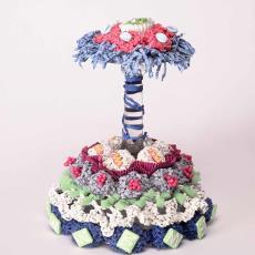 Pralini taart part five - Hil Driessen, Textielmuseum (Frans van Ameijde / Joep Vogels)