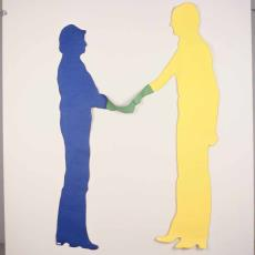'Touching colours' - Anna Verwey-Verschuure, Textielmuseum (Frans van Ameijde / Joep Vogels)