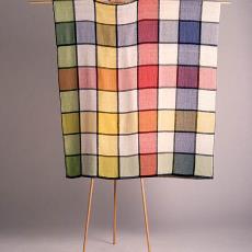 'Vierkant gekleurd met zwart' - Textielmuseum (Frans van Ameijde / Joep Vogels), Margot Rolf