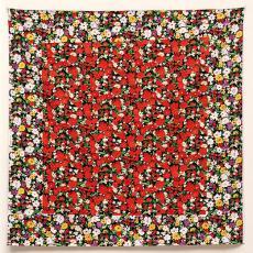 'Rood vierkant: Schilderkundig realisme van een boerenvrouw in twee dimensies naar Malevich' - Wilma Kuil, Textielmuseum (Frans van Ameijde / Joep Vogels)