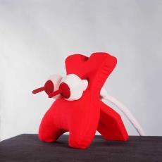 'Red Squeezer' - Lidy Jacobs, Textielmuseum (Frans van Ameijde / Joep Vogels)