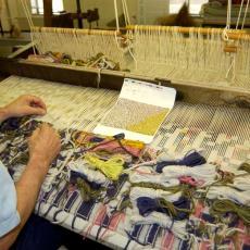 'Handweef '71' - Textielmuseum (registratiefoto), Anton Reukers, Textielmuseum (registratiefoto), Nederlands Textielmuseum, Textielmuseum (Joep Vogels), Textielmuseum (registratiefoto), Peter Struycken