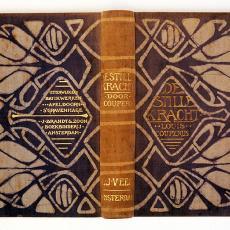 Boekomslag De stille kracht van Chris Lebeau - Chris Lebeau, L. Couperus, Textielmuseum (Frans van Ameijde / Joep Vogels), L.J. Veen