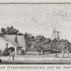 'Gezigt van de garenbleekeryen, aan de nieuwe Cingel' - Hendrik Spilman, Pictura (fotografie)