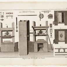 Impression des Etoffes en Laine, Pl. 1 - Diderot et D'Alembert, Robert Benard, Pictura (fotografie)