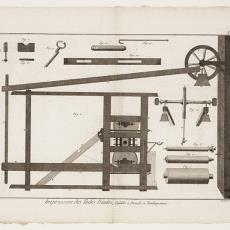 Impression des Toiles Peintes, Pl. 3 - Robert Benard, Diderot et D'Alembert, Pictura (fotografie)
