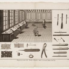 Impression des Toiles Peintes, Pl. 6 - Diderot et D'Alembert, Pictura (fotografie), Robert Benard