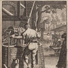 'De verwer' - naar Jan Luyken, Pictura (fotografie), Abraham a Sancta Clara