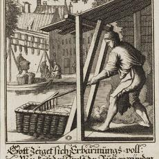 'Der Wollenbereiter' - Jan Luyken, Caspar Luyken